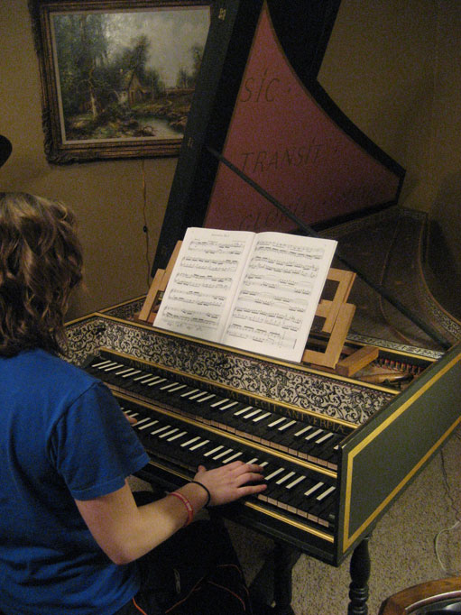 Harpsichord lessons
