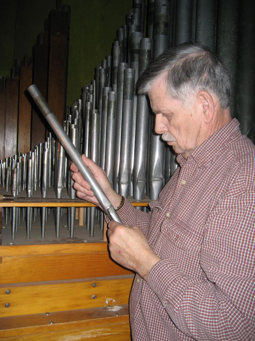Pipe organ voicing - Richard Dowling