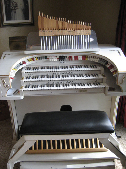 Organ in teaching studio